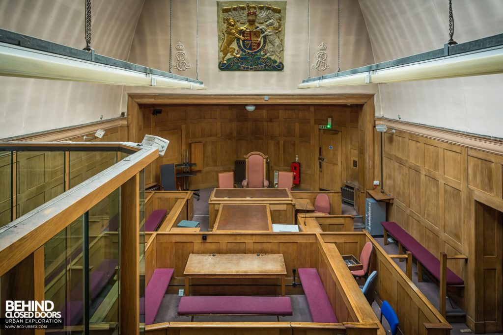 Greenwich Magistrates Court - Overview of Courtroom 1