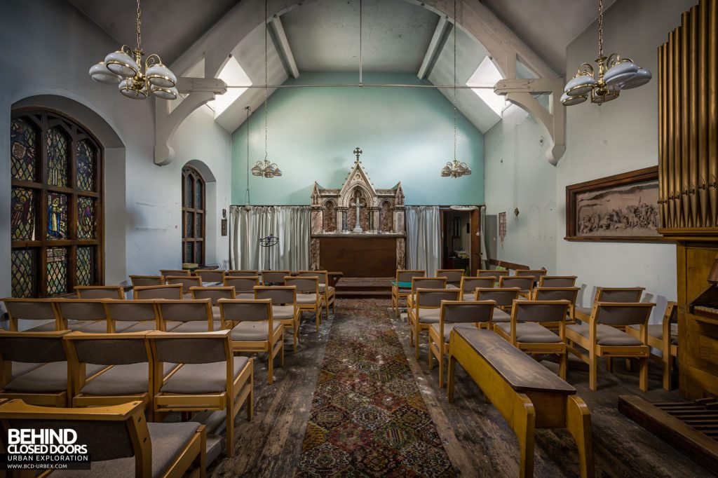 North Staffordshire Royal Infirmary - The hospital chapel
