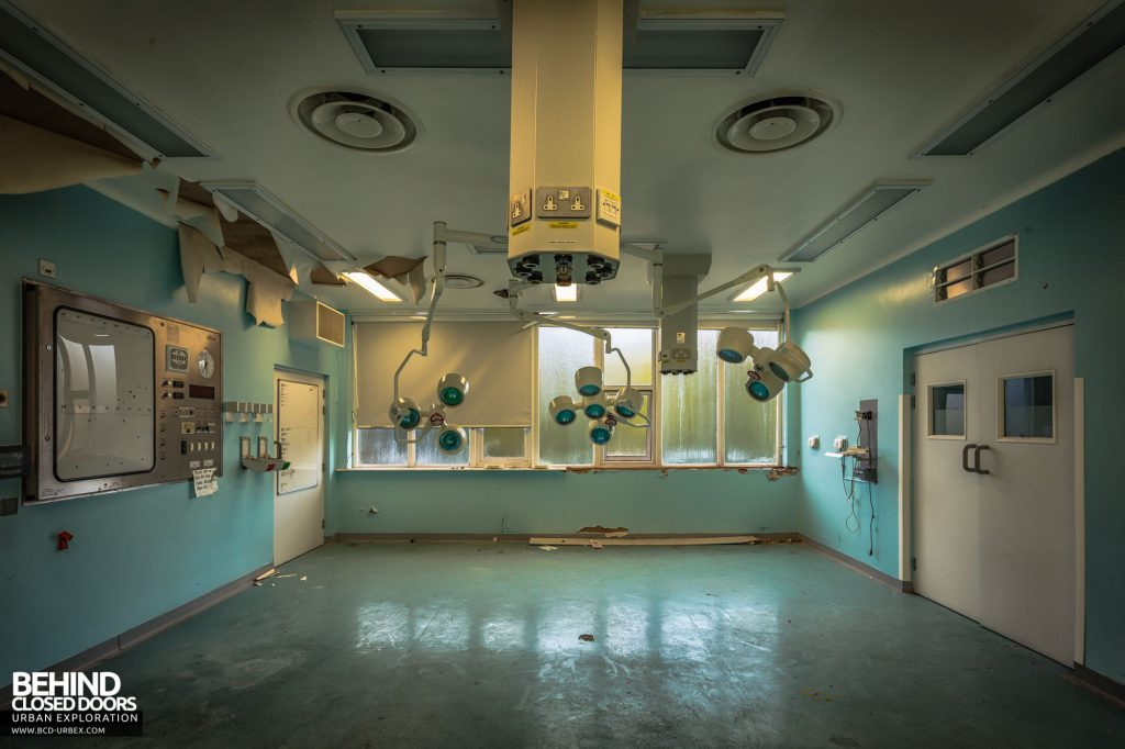 North Staffordshire Royal Infirmary - A&E Operating Theatre 1