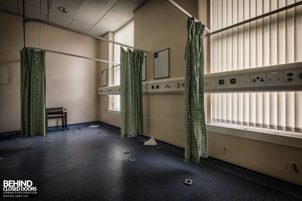 North Staffordshire Royal Infirmary - One of the many wards