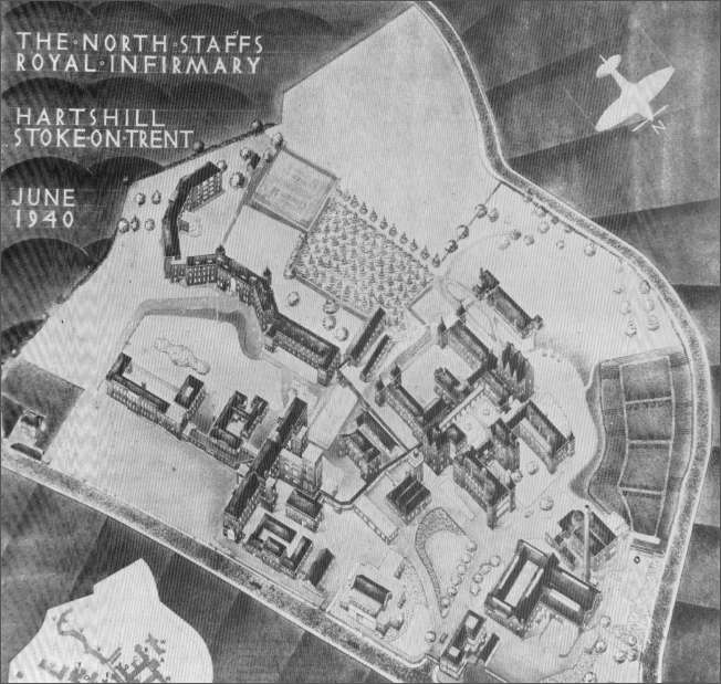 Plan of the Infirmary, dated June 1940