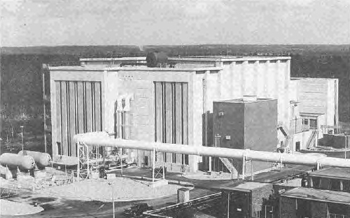 NGTE Pyestock Anechoic Chamber - The noise test facility in the 1970s before the blue inlets were installed​