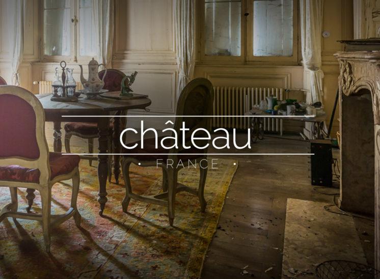 Abandoned French Chateau