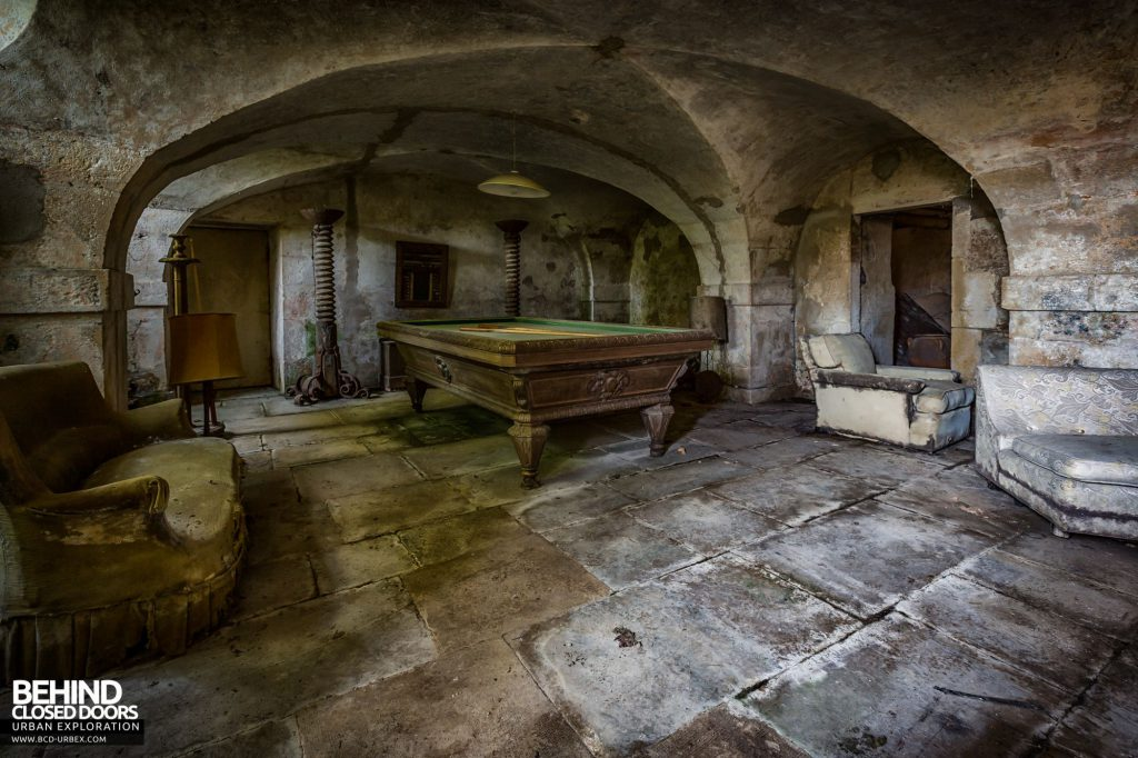 Abandoned French Chateau - Vaulted Basement