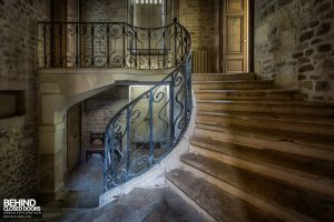 Abandoned French Chateau - Staircase