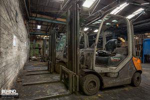 Coalbrookdale Foundry - Forklift trucks