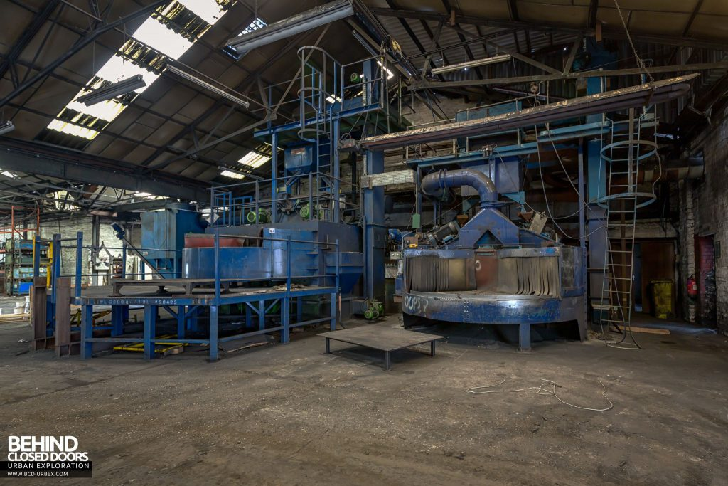 Coalbrookdale Foundry - Towards the end of the factory we find more machinery