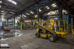 Coalbrookdale Foundry - Cherry picker