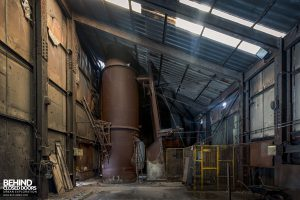 Coalbrookdale Foundry - Above the furnaces