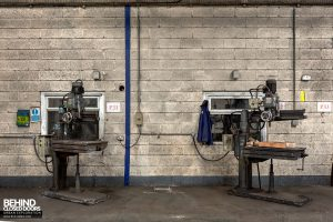 Coalbrookdale Foundry - A pair of drills
