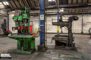 Coalbrookdale Foundry - Drill-presses