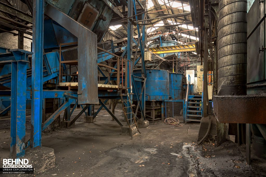 Coalbrookdale Foundry - Tanks and conveyors