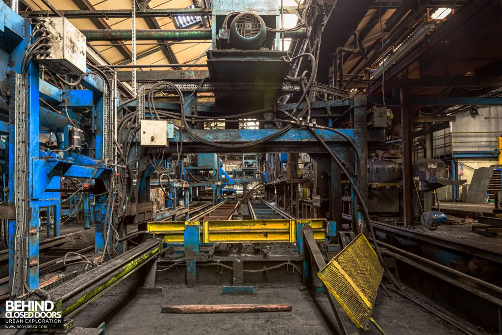 Coalbrookdale Foundry - Automated production lines