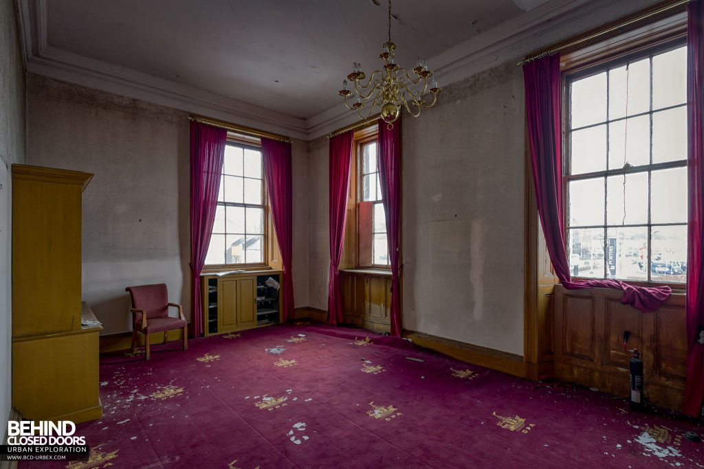 Harbour Chambers, Dundee - The Harbour Clerk's office featured Dundee Port Authority carpet!