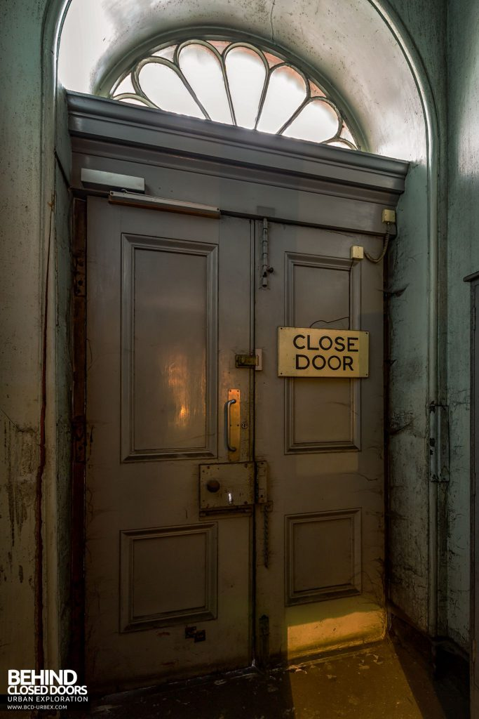 Harbour Chambers, Dundee - Behind the closed door