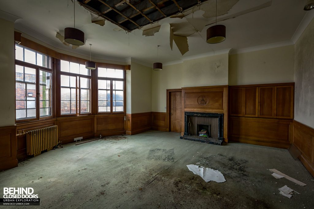 Harbour Chambers, Dundee - One of the rooms in the extension