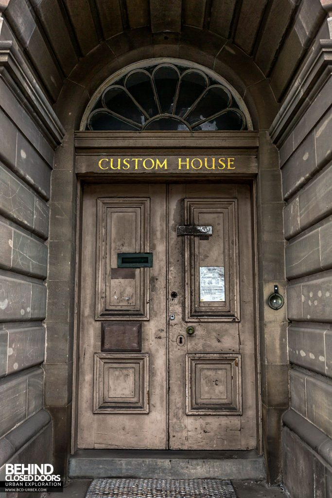 Custom House Doorway
