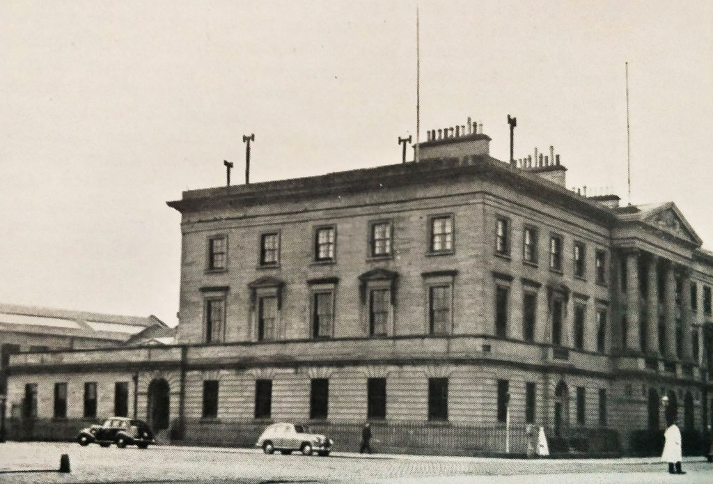 Harbour Chambers, scanned from the 1952 Port of Dundee Official Handbook​
