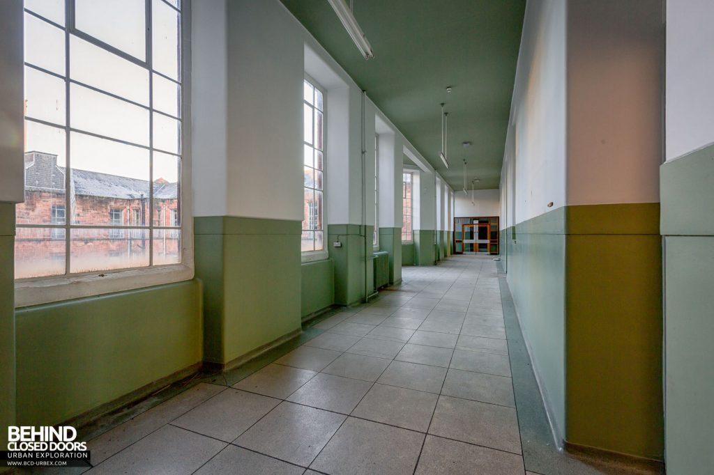 Jordanhill College, Glasgow - Corridor