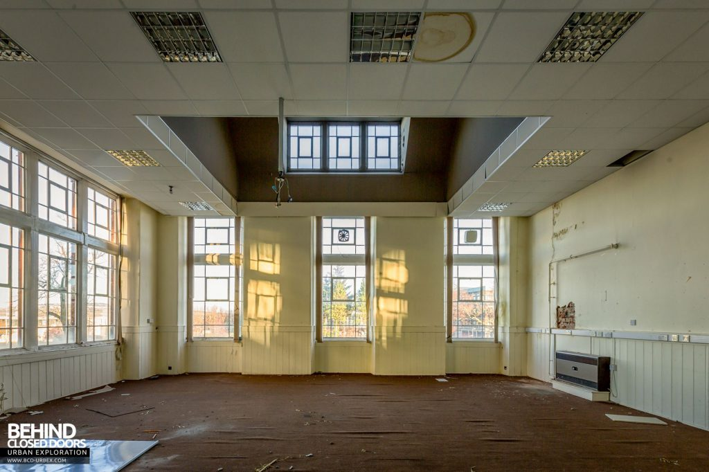 Jordanhill College, Glasgow - One of the many classrooms