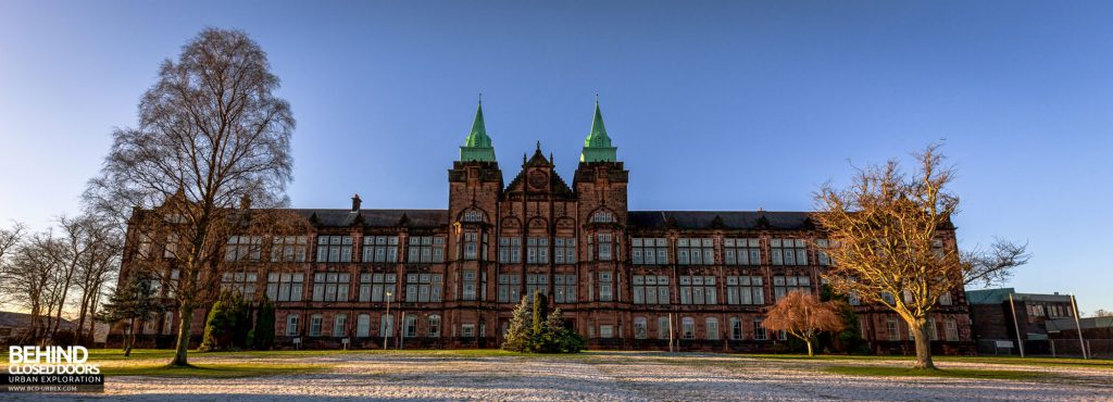 The David Stow building, Jordanhill Campus, Glasgow