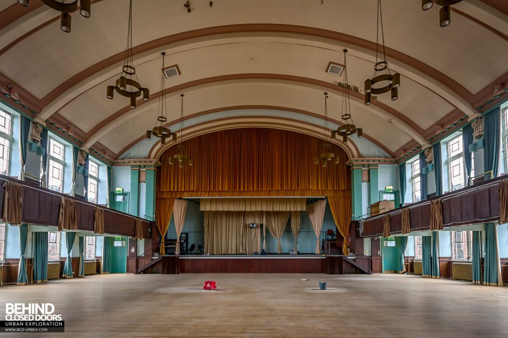 Jordanhill College, Glasgow - The Francis Tombs Hall