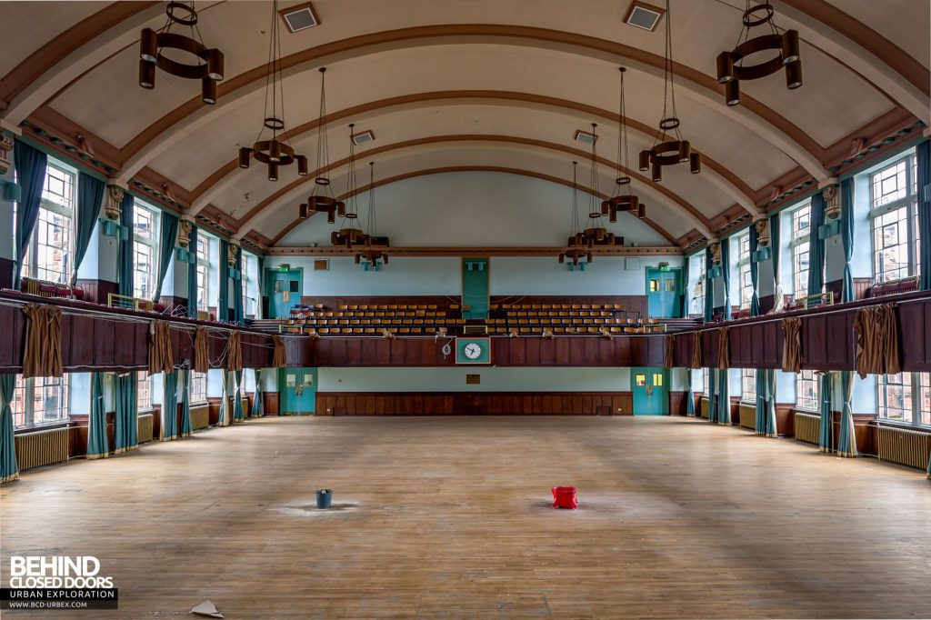 Jordanhill College, Glasgow - View from the stage