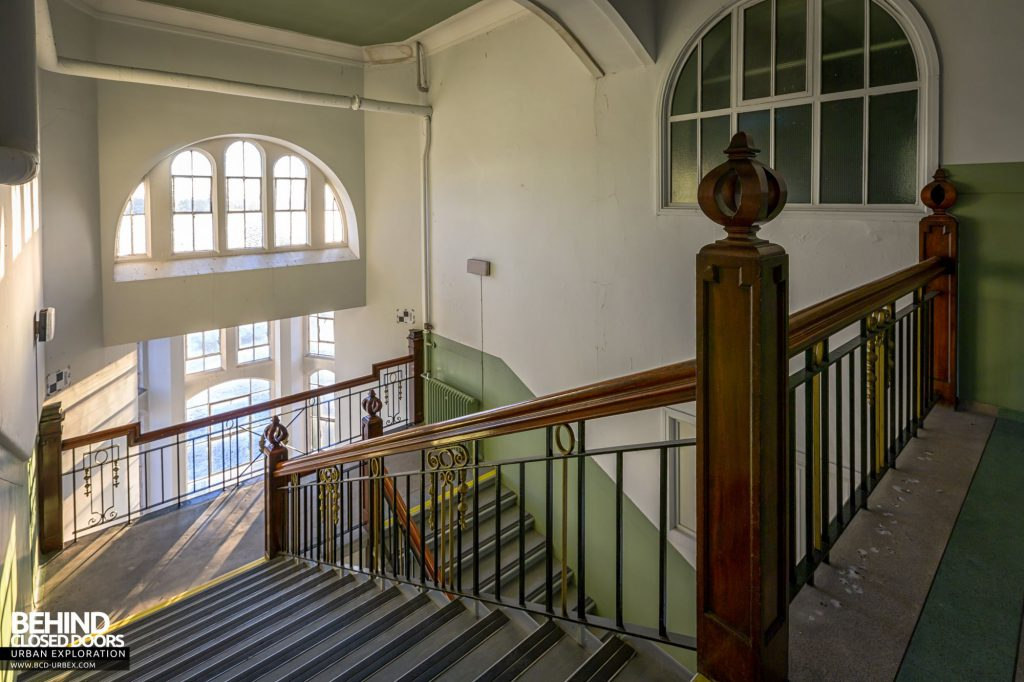 Jordanhill College, Glasgow - Top of the main staircase