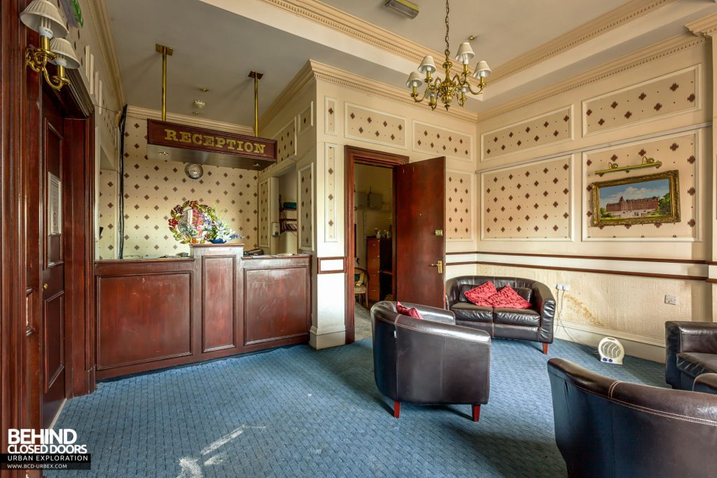 Station Hotel, Ayr - Reception