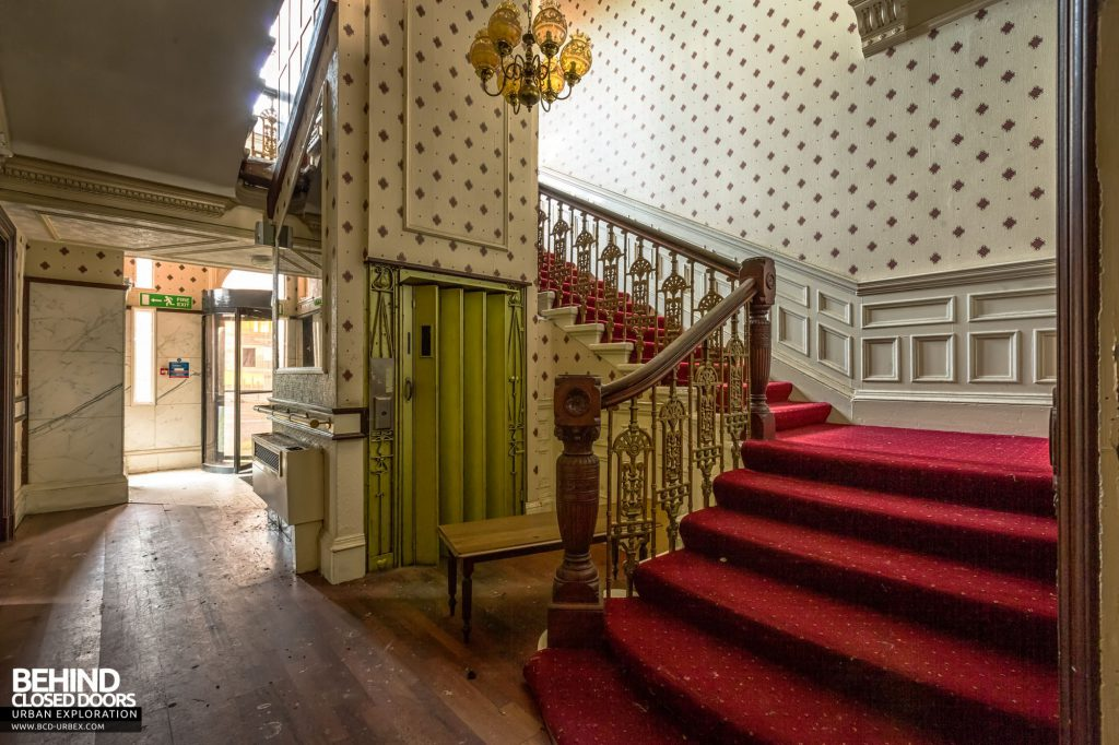 Station Hotel, Ayr - Entrance Hall