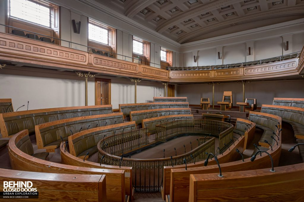 Old Royal High School / Parliament House - The Scottish Parliament never used the debating chamber