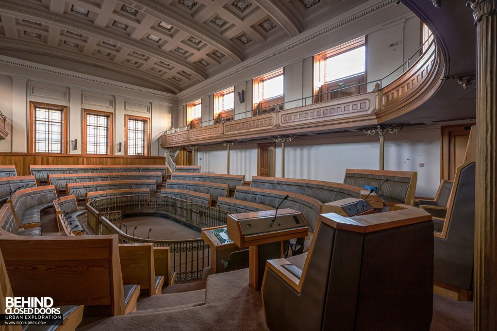 Old Royal High School / Parliament House - Behind the speaker's chairs