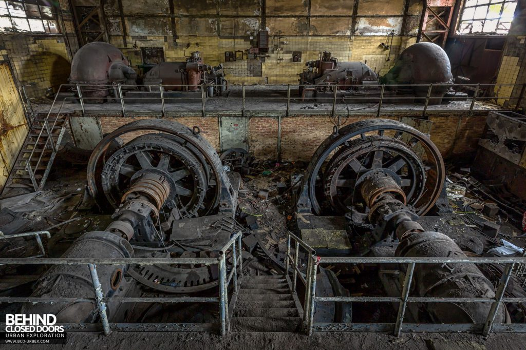 HF4 Power Plant - Rotary Converters and Turbines