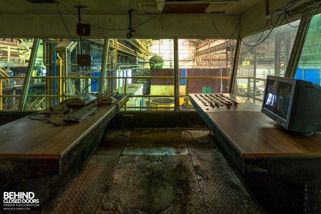 Duferco La Louvière - Slab Caster Control Room