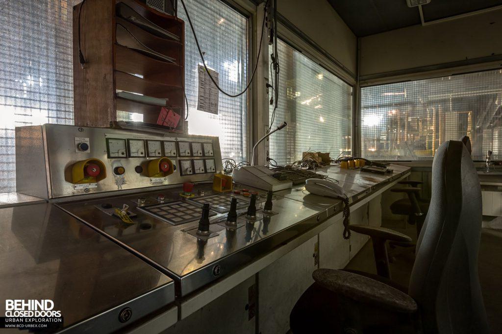 Duferco La Louvière - Duferco La Louvière - Concast Plant Control Room