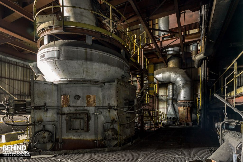 HF4 Coal Injection Plant - The other pulveriser