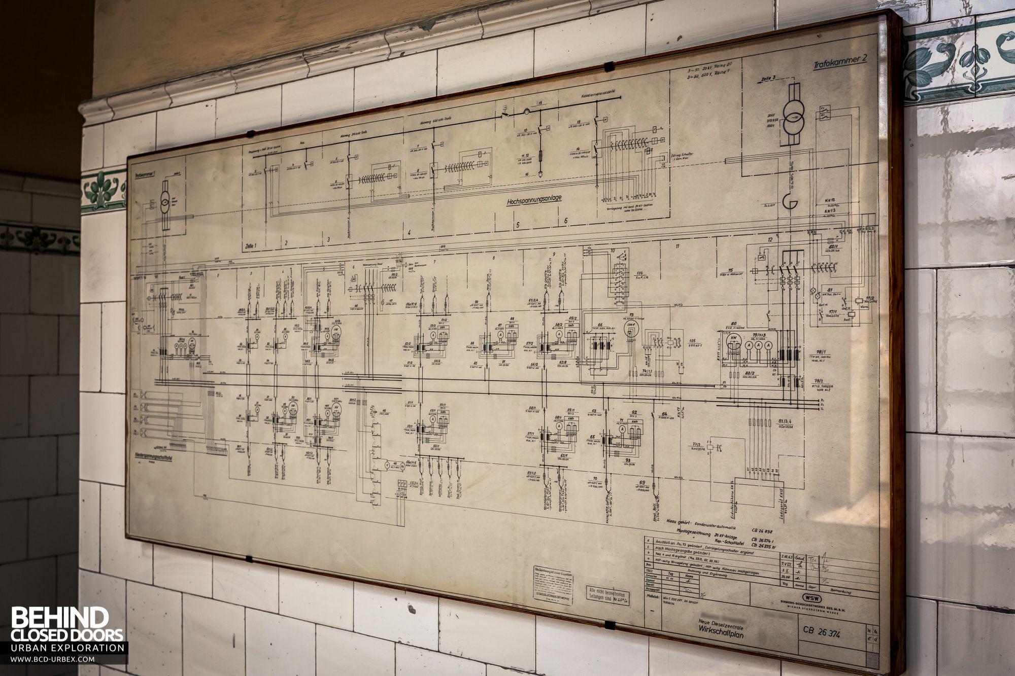 Diesel Centrale Austria Urbex Behind Closed Doors Urban European Industrial Wiring Diagrams Control Panel Diagram