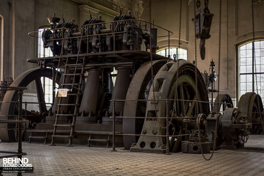 Diesel Centrale, Austria - The engines were installed in the early 1900s
