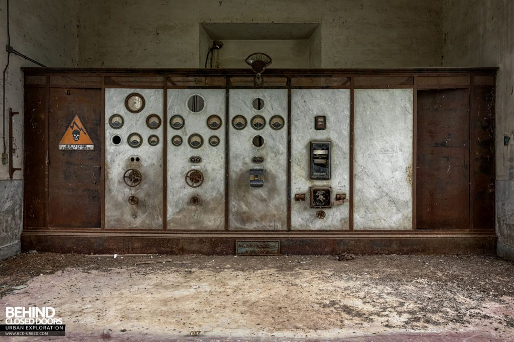 Hydro Power Plant, Italy - The control panel