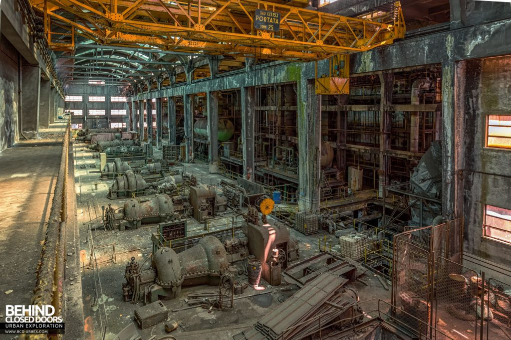 Italian Power Plant - One final view over the turbine hall