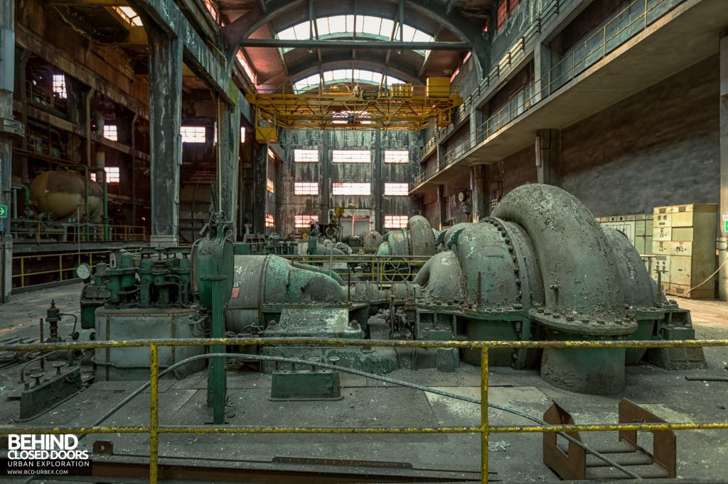 Italian Power Plant - Franco Tosi steam turbines