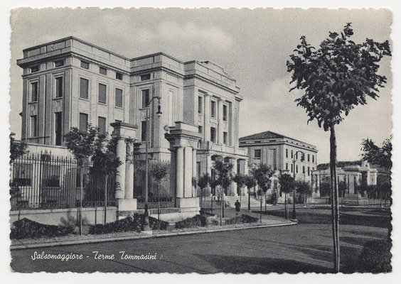 Archive image of the Terme Tommasini hotel