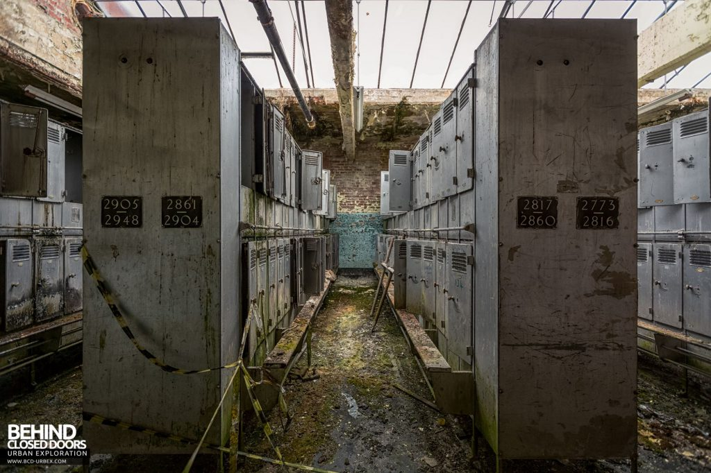 Pit Head Baths - Some of the lockers