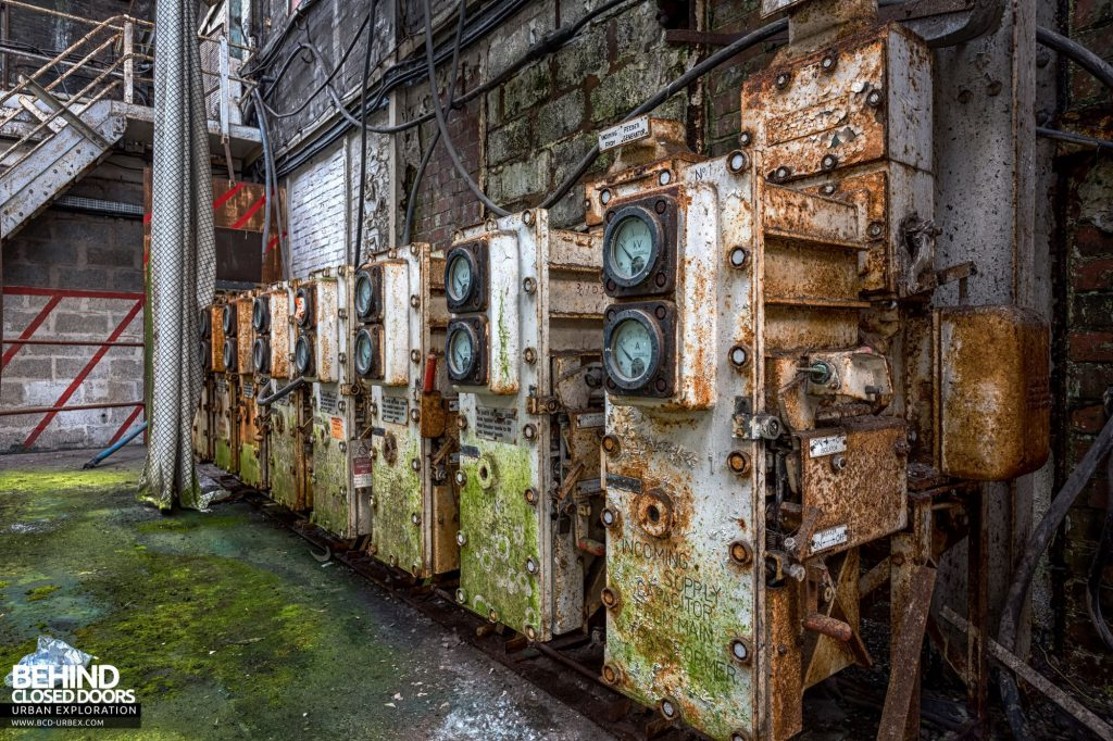 Locomotive Shed and workshops - Electrical switchgear