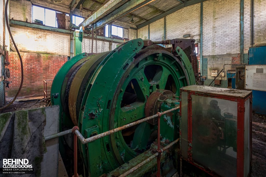 Institute Winding House - The winding drum