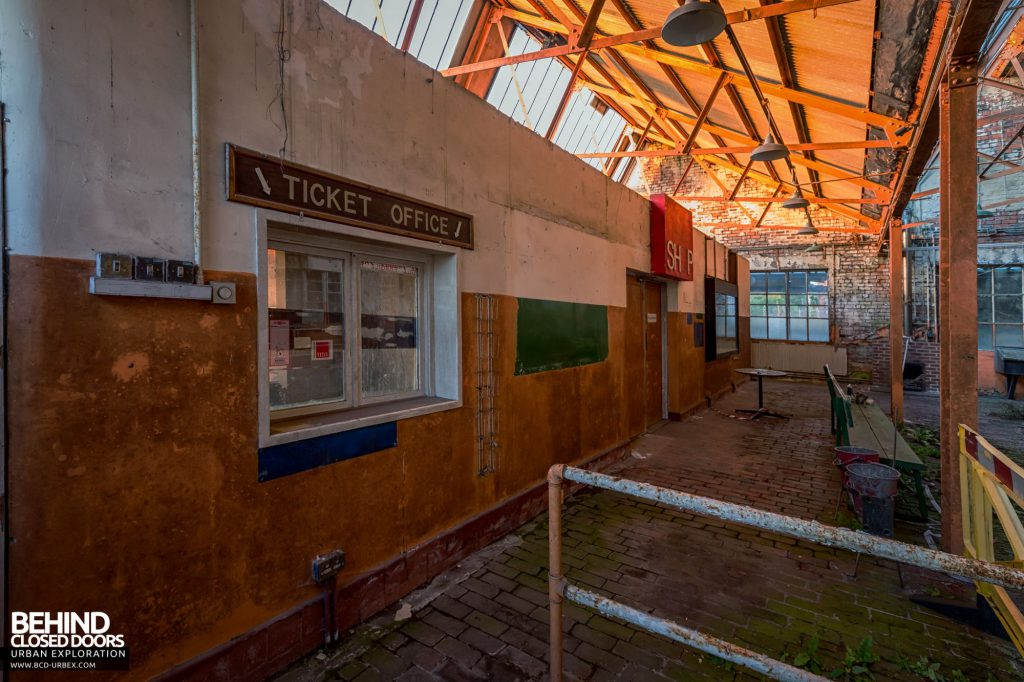 Lamp House - Part of the lamp house had been converted into the ticket office when the colliery was a museum