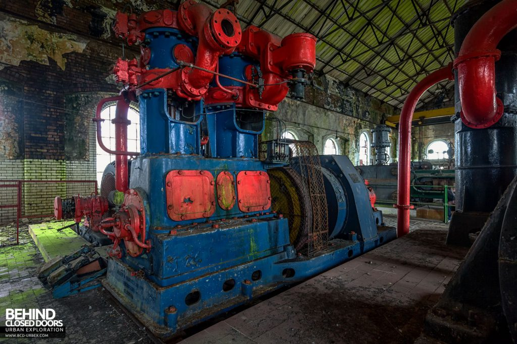 Hesketh Power House - Air compressor built by Alley & MacLellan of Glasgow