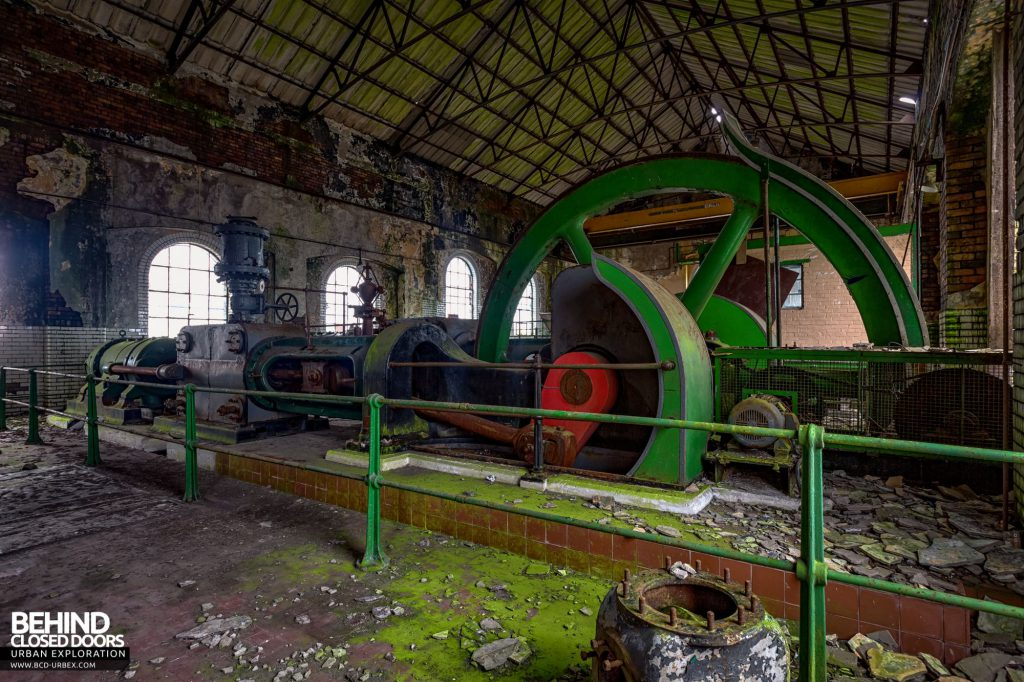 Hesketh Power House - Reciprocating steam engines such as these were the primary source of electricity during the Victorian times