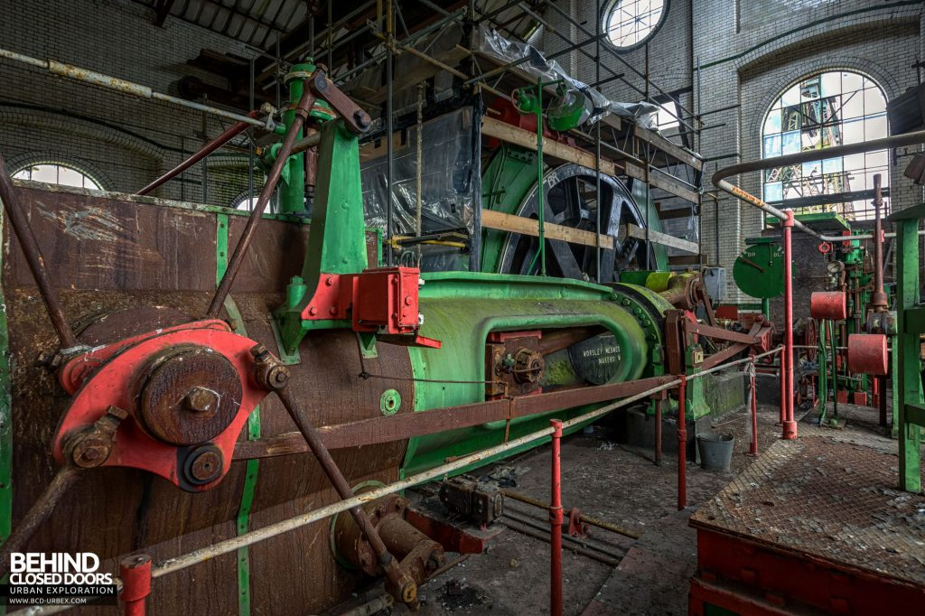 Hesketh Winding House - The Worsley Mesnes steam powered winding engine