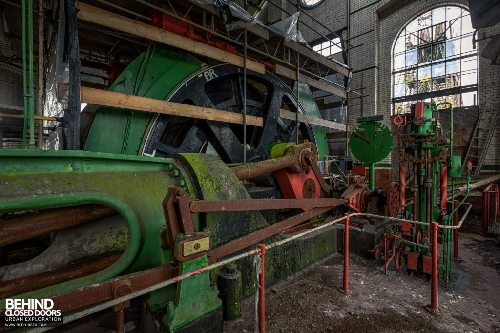 Hesketh Winding House - The steam winding engine